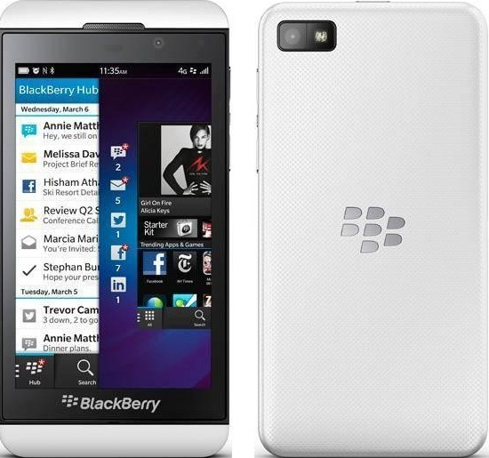 BlackBerry Z10 LTE (Whiite)