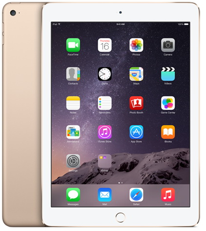 Apple iPad Air 2 128Gb Wi-Fi + Cellular (Gold)