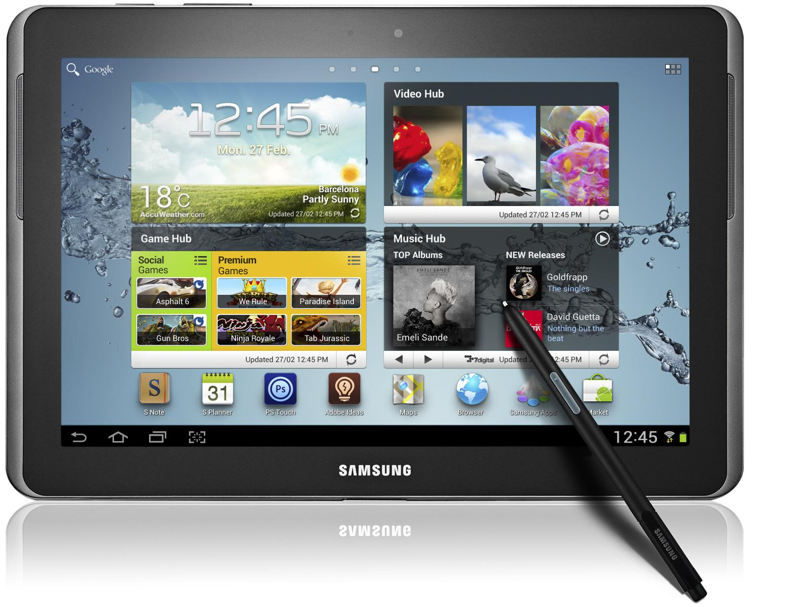 Samsung Galaxy Note N8000 10.1 3G 16Gb (Deep Grey)