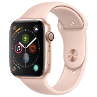 Смарт-часы Apple Watch S4 Sport 44mm Gold Al/Pink Sand Sport Band