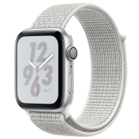 Смарт-часы Apple Watch S4 Nike+ 44mm Silver Al/Wh Nike Sport Loop