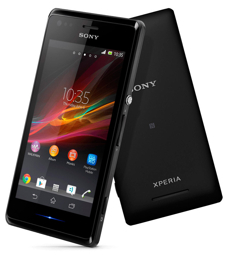 Sony Xperia M2 (Black)