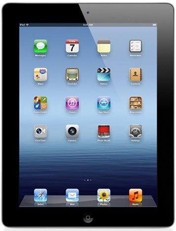 Apple iPad 4 32Gb Wi-fi + 4G (Black)